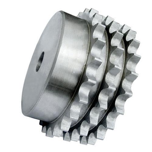 """10TR11 (20B3-11) 1.1/4"""" Pitch Steel Pilot Bore Triplex Sprocket"""