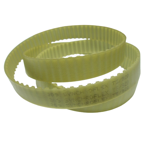 6T2.5/950 Metric Timing belt, 950mm Length, 2.5mm Pitch, 6mm Wide