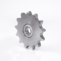 KSR16LO12101509 INA Roller chain idler sprocket unit 16.2x99.2x18.3mm