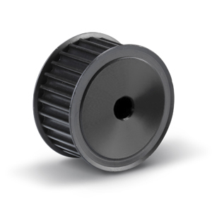 """19-H-100F Pilot Bore Imperial Timing Pulley, 19 Teeth, 1/2"""" Pitch, For A 1"""" Wide Belt"""