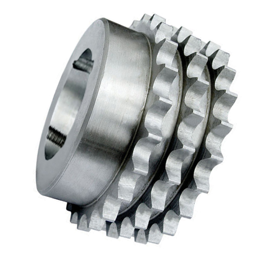 """83-17 (16B3-17) 1"""" Pitch Steel Taper Lock Triplex Sprocket"""