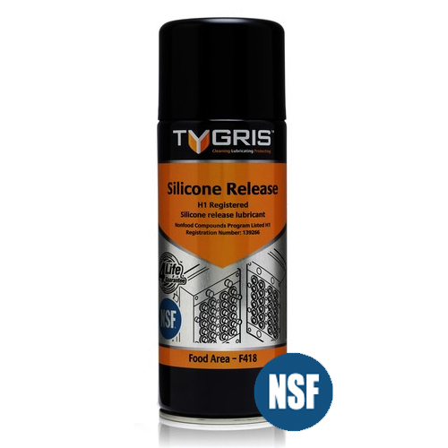 Tygris F418 Food Area Silicone Release