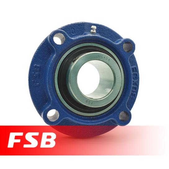"UCFCX05-14 FSB Self Lube 4 Bolt Flange Unit 7/8"" Shaft (MFC7/8)"