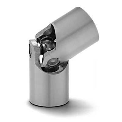 UJSP45X22 45mm Single knuckle Universal Joint in steel with 22mm Bore