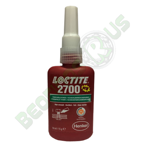 Loctite 2700 - High Strength Health & Safety Friendly 50ml