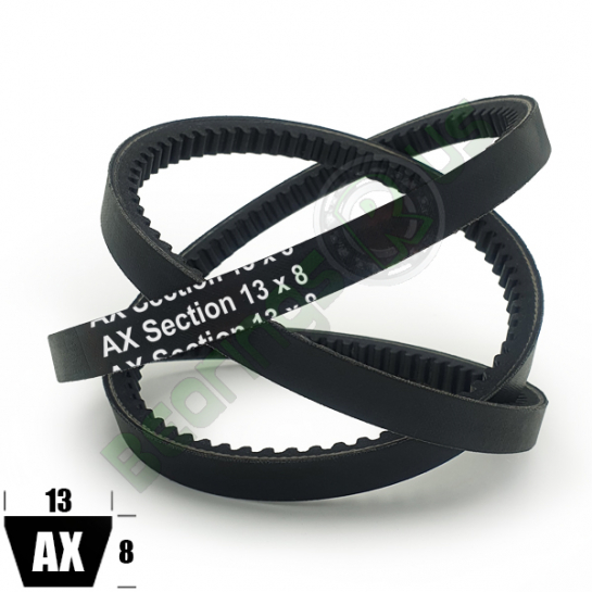 """AX32 Premium Cogged (CRE) AX Section V Belt - 32"""" Inside Length"""