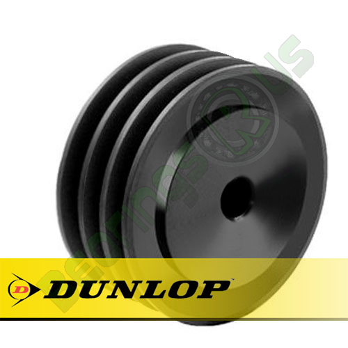 SPA190X3 Vee Belt Pulley - SPA Section 3 Groove - Pilot Bore