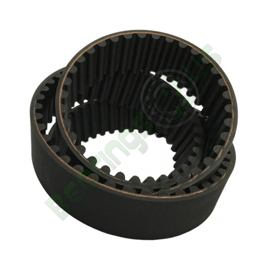 280-5M-25 HTD Timing Belt 5mm Pitch, 280mm Length, 56 Teeth, 25mm Wide