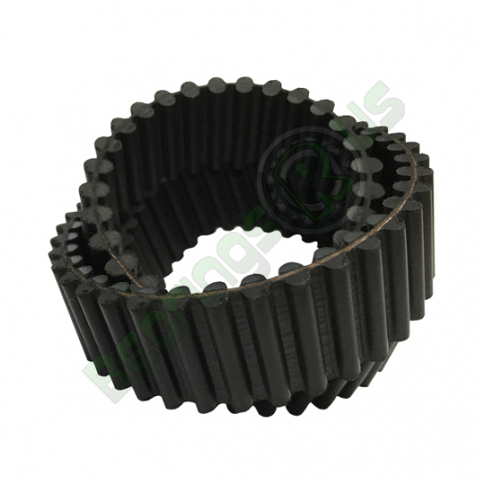 1400-14M-170 DD HTD Double Sided Timing Belt 14mm Pitch, 1400mm Length, 100 Teeth, 170mm Wide
