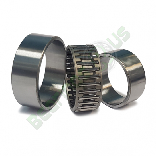 NAO6x17x10TN SKF Needle Roller Bearing With Machined Rings With Flanges, With Inner Ring 6x17x10mm