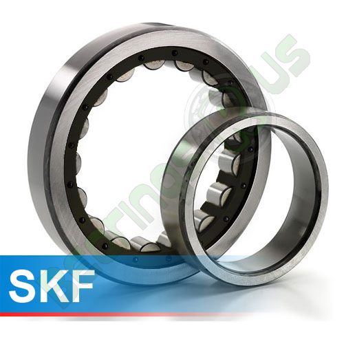 NU1011ECP SKF Cylindrical Roller Bearing 55x100x21 (mm)