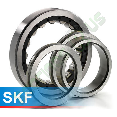 NUP207ECP SKF Cylindrical Roller Bearing 35x72x17 (mm)