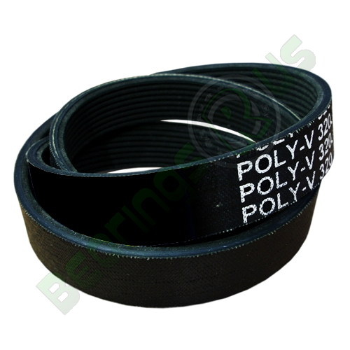 """12PM3124 (1230M12) Poly V Belt, M Section With 12 Ribs - 3124mm/123.0"""" Length"""