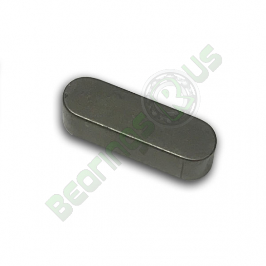 Rounded Key 10x8x40mm