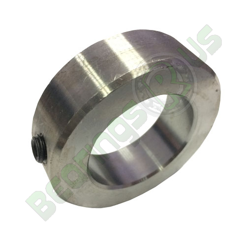 20mm Solid STAINLESS Shaft Collar with Grub Screw