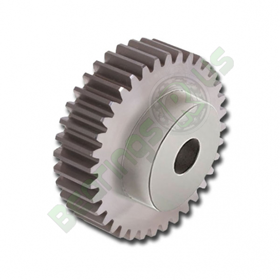 SS25/13B  2.5 mod 13 tooth Metric Pitch Steel Spur Gear with Boss