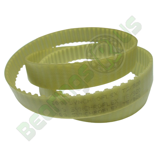 4T2.5/330 Metric Timing belt, 330mm Length, 2.5mm Pitch, 4mm Wide
