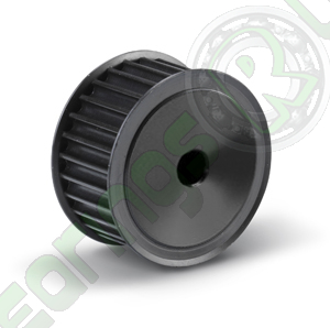 """33-L-100F Pilot Bore Imperial Timing Pulley, 33 Teeth, 3/8"""" Pitch, For A 1"""" Wide Belt"""