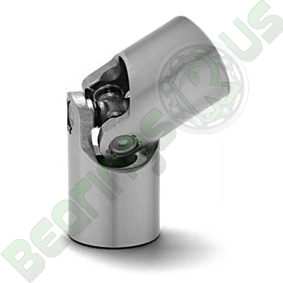 UJSP16X6 16mm Single knuckle Universal Joint in steel with 6mm Bore
