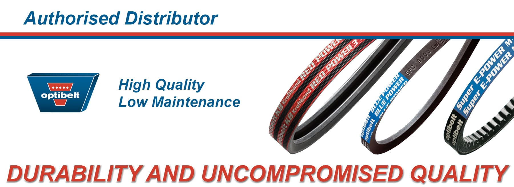 Optibelt - Authorised Distributor - Durability and uncompromised quality