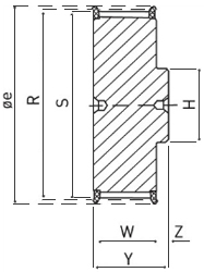 Pulley Cross Diagram