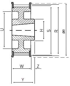 Pulley Cross Diagram