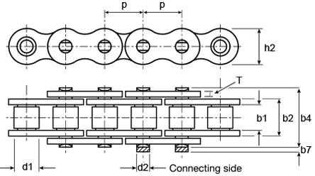 083B-1 Chain Dimensions