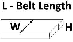 Flat Belt Diagram