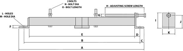 TEC Motor Slide Rails