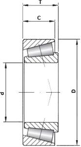 18690/18620 KOYO Taper Roller Bearing 46.038x79.375x17.492 (mm)