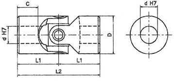 UJSPL Universal Joint